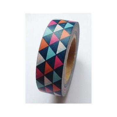 Washi Tape - Geometric Triangles