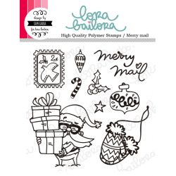 Tampons clear Lora Bailora - Merry Mail