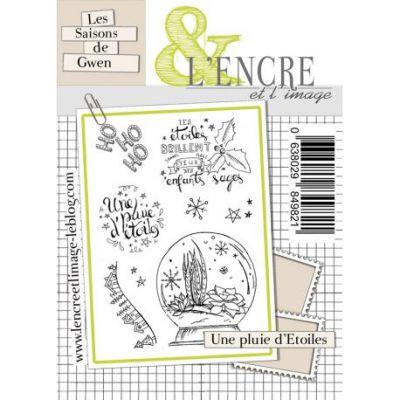 Tampons L'Encre & l'Image - Les Saisons de Gwen - Une pluie d'étoiles
