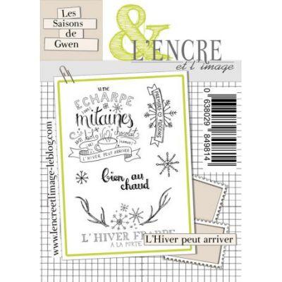 Tampons L'Encre & l'Image - Les Saisons de Gwen - L'hiver peut arriver