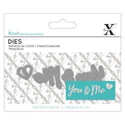 Dies XCut - Mini - You & Me
