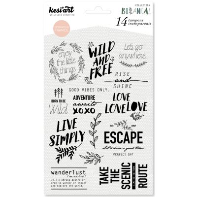 "Tampons clear KesiArt ""Wild and Free"""