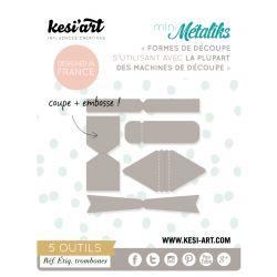 Dies MetaliKs - Étiquettes Trombones