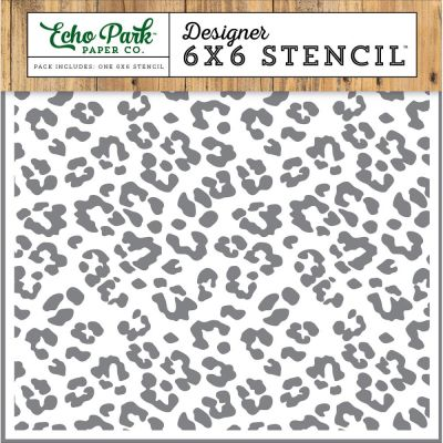 Pochoir Echo Park - Cheetah Print