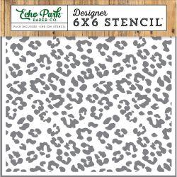 Pochoir Echo Park - Cheetah Print