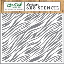 Pochoir Echo Park - Zebra Print