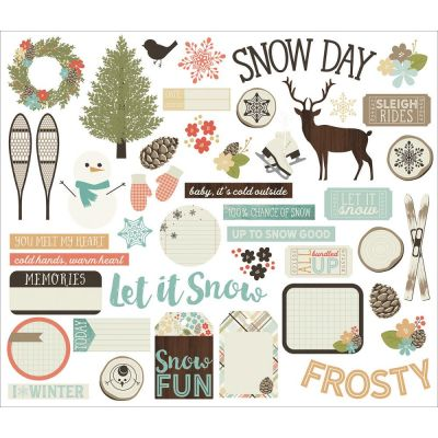 Die Cuts - Bits & Pieces - Winter Wonderland