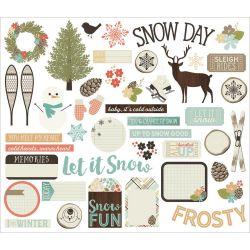 Die Cuts - Bits & Pieces - Winter Wonderland