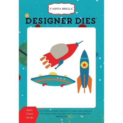 Die Carta Bella - Designer Dies - Space Travel