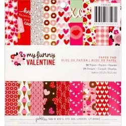 Mini Pack 15x15 - Pebbles - My Funny Valentine