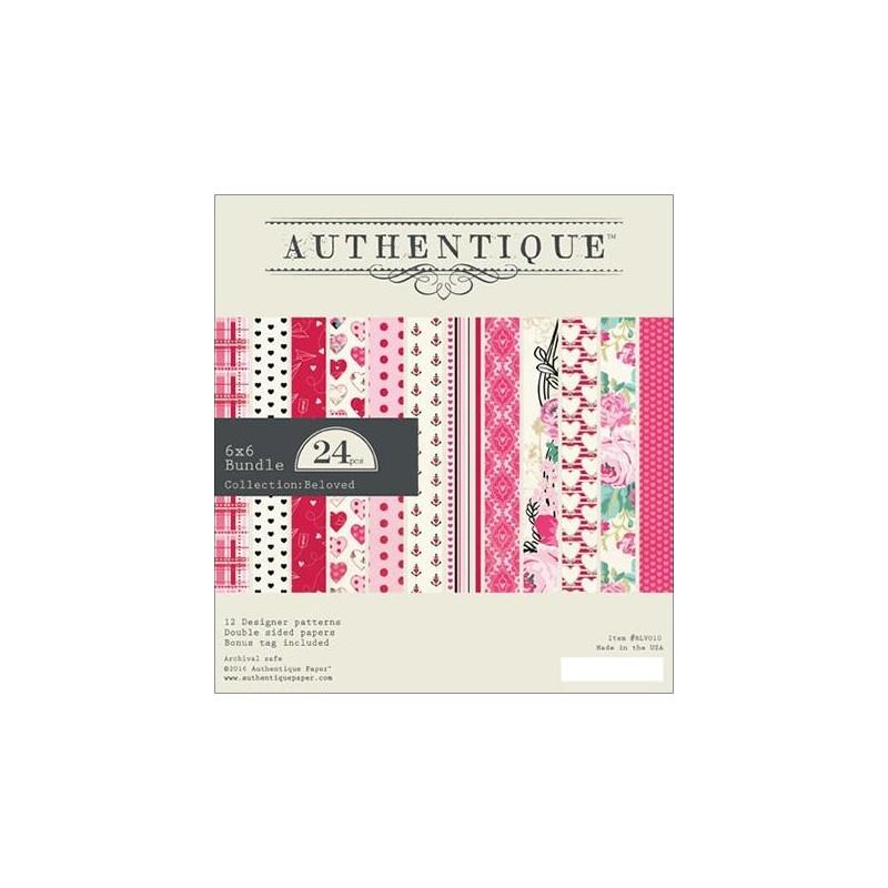 Mini Pack 15x15 - Authentique - Beloved