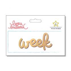 Mot en bois Lora Bailora - Week