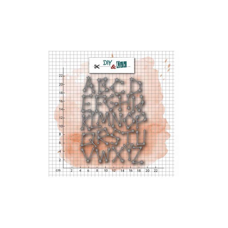 Dies DIY&Cie - Alphabet constellation