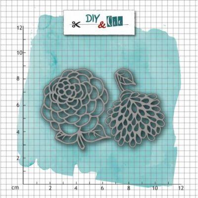 Dies DIY&Cie - Dahlia et Pivoine duo mini