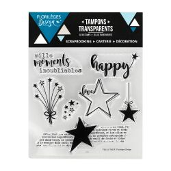 Tampons transparents Florilèges - Capsules 2017 - Mille moments