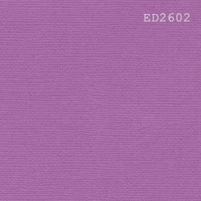 Cardstock texturé canvas - Coloris Violet Zinzolin
