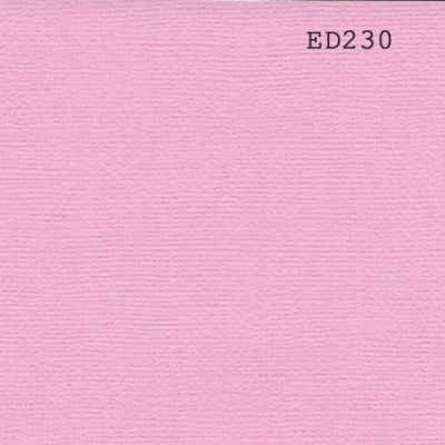 Cardstock texturé canvas - Coloris Rose Dragée