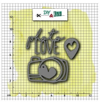 Dies DIY&Cie - Photo Love