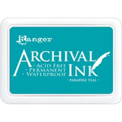 Encre Archival Ink - Paradise Teal