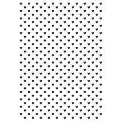 Pochoir de gaufrage KaiserCraft - Tiny Hearts