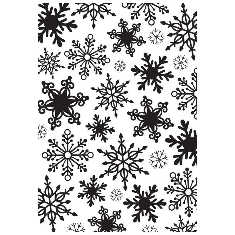 Pochoir de gaufrage KaiserCraft - Snowflakes