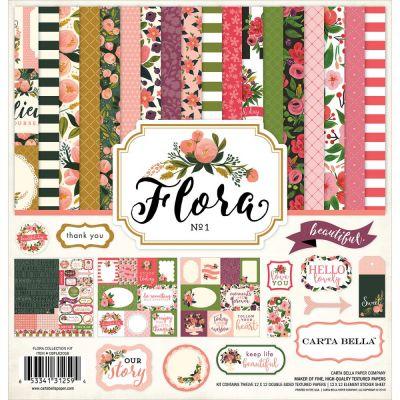 Pack 30x30 - Carta Bella - Flora