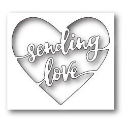 Die Memory Box - Sending Love Heart