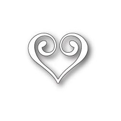Die Memory Box - Clip Heart
