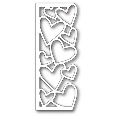 Die Memory Box - Oodles of Hearts Panel