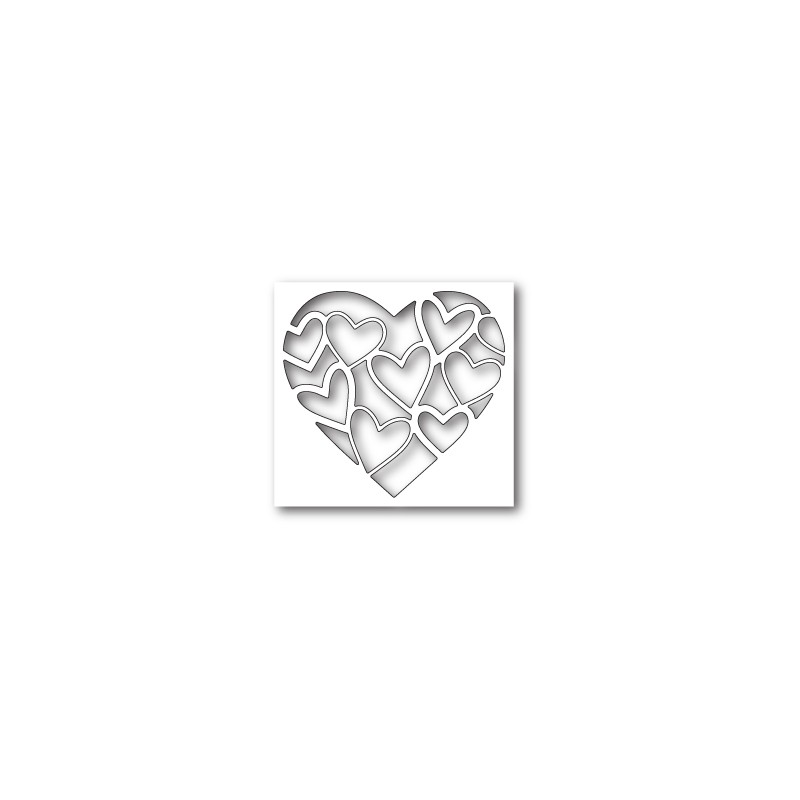 Die Poppystamps - Inlay Heart