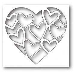 Die Poppystamps - Inlay Heart