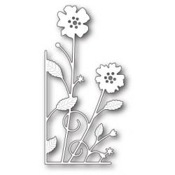 Die Memory Box - Large Antilles Floral Left Corner