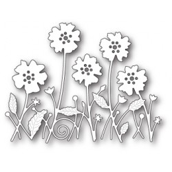 Die Memory Box - Antilles Floral Border