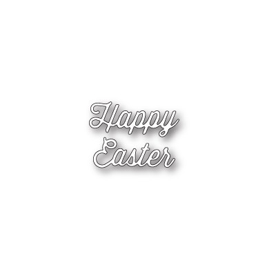 Die Memory Box - Happy Easter Perky Script