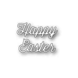 Die Memory Box - Happy Easter Perky Script