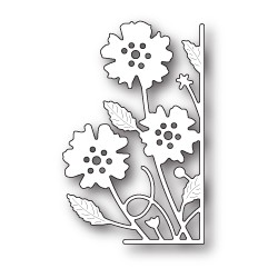 Die Memory Box - Small Antilles Floral Right Corner