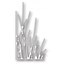 Die Memory Box - Tall Grassy Stems Left Corner