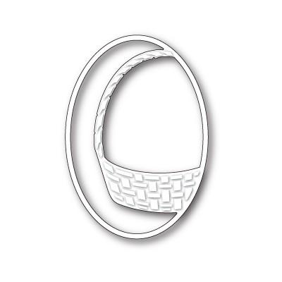 Die Memory Box - Gift Basket Oval