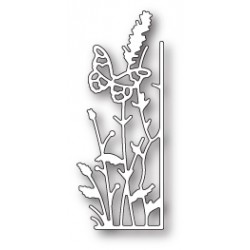 Die Memory Box - Small Lavender Butterfly Right Corner