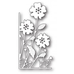 Die Memory Box - Small Antilles Floral Left Corner