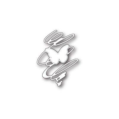 Die Memory Box - Whirling Butterfly Silhouette