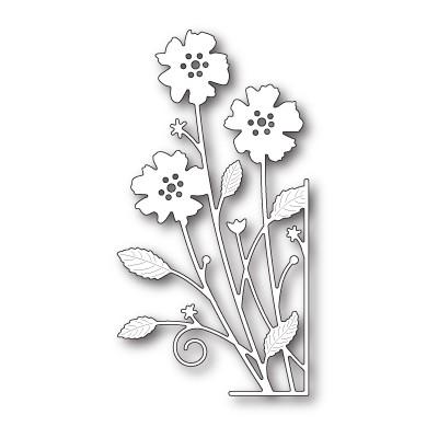 Die Memory Box - Large Antilles Floral Right Corner