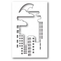Die Poppystamps - Urban Skyline Collage
