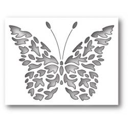 Die Poppystamps - Flickering Butterfly Collage