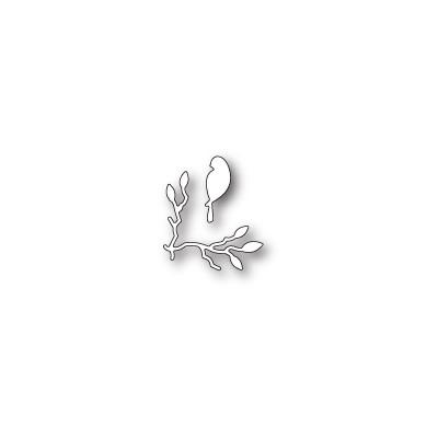 Die Poppystamps - Birdsong Mini Corner