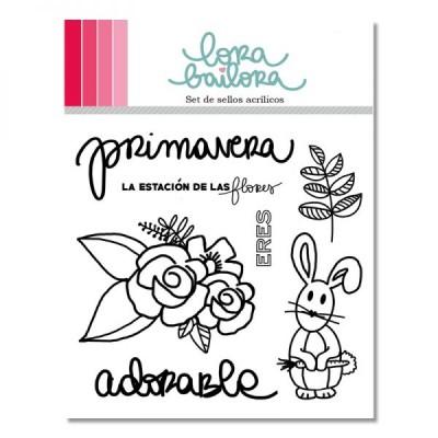 Tampons clear Lora Bailora - Primavera