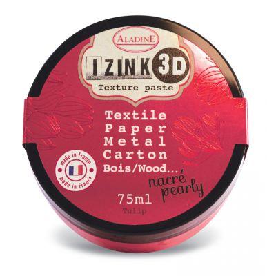 Pâte de texture Izink 3D - Nacrée - Tulip