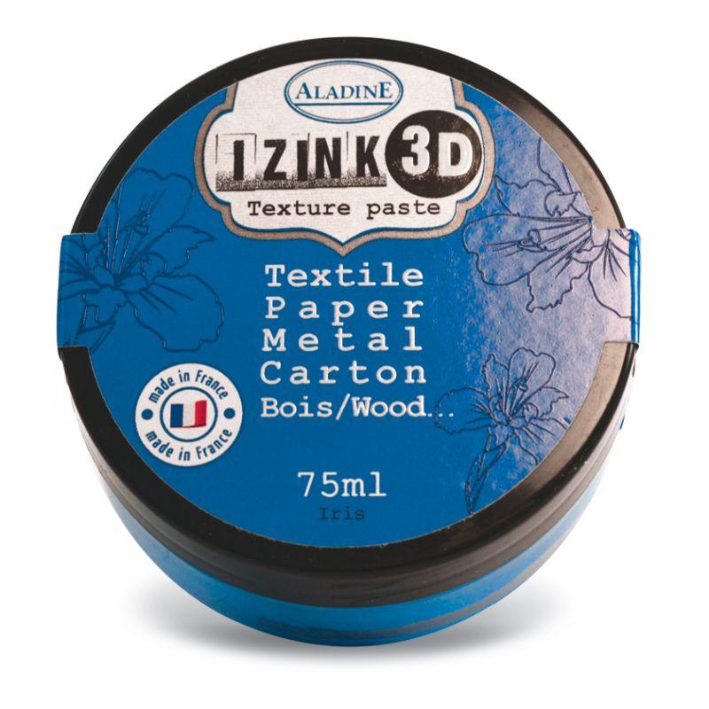 Pâte de texture Izink 3D - Classique - Iris