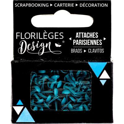 Mini Brads - Attaches Parisiennes - Florilèges - Mers du Sud