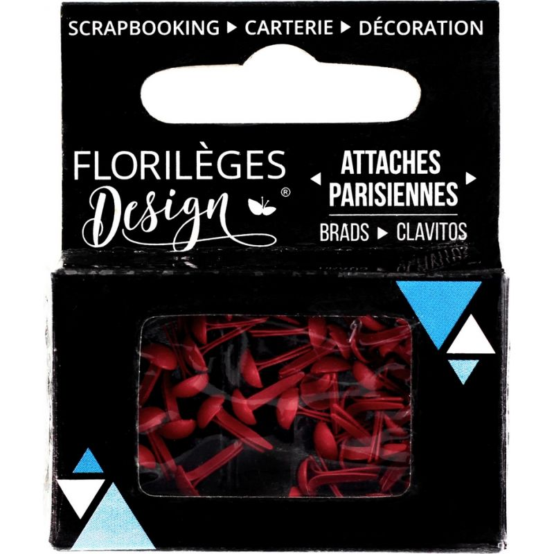 Mini Brads - Attaches Parisiennes - Florilèges - Garance